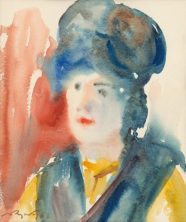Mikuláš Rogovský – Podobizeň ženy