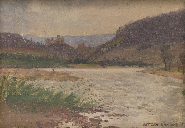 Ferdinand Katona – Krajina s hradom
