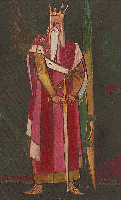 Július Muška – Starý kráľ