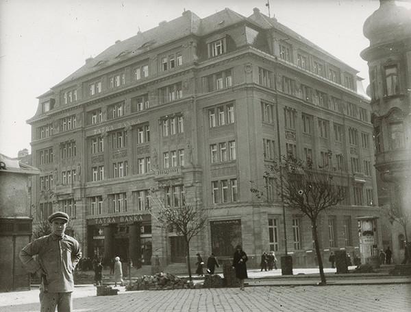 Milan Michal Harminc – Tatra banka v Bratislave.