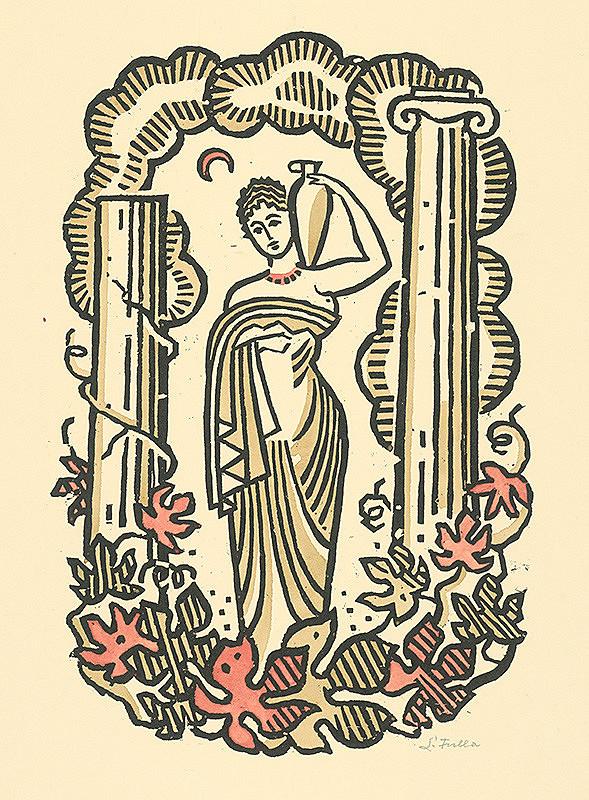 Ľudovít Fulla – Žena s amforou