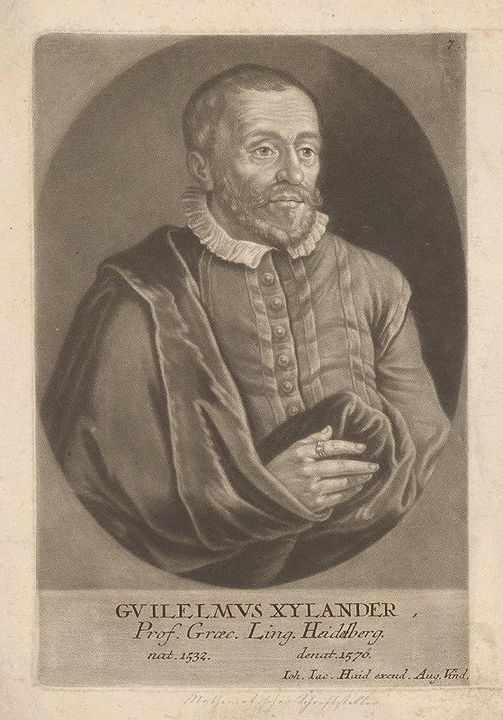 Johann Jacob Haid - Profesor Guilelmus Xylander