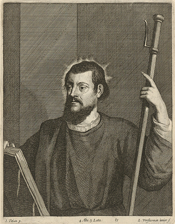Titian, Lucas Vorsterman ml., David Teniers ml. - Svätec