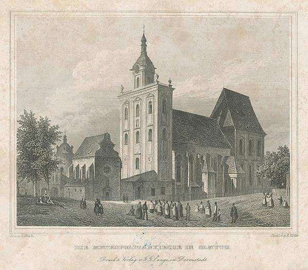 Karl Würbs, Emil Höfer – Metropolitný chrám v Olomouci