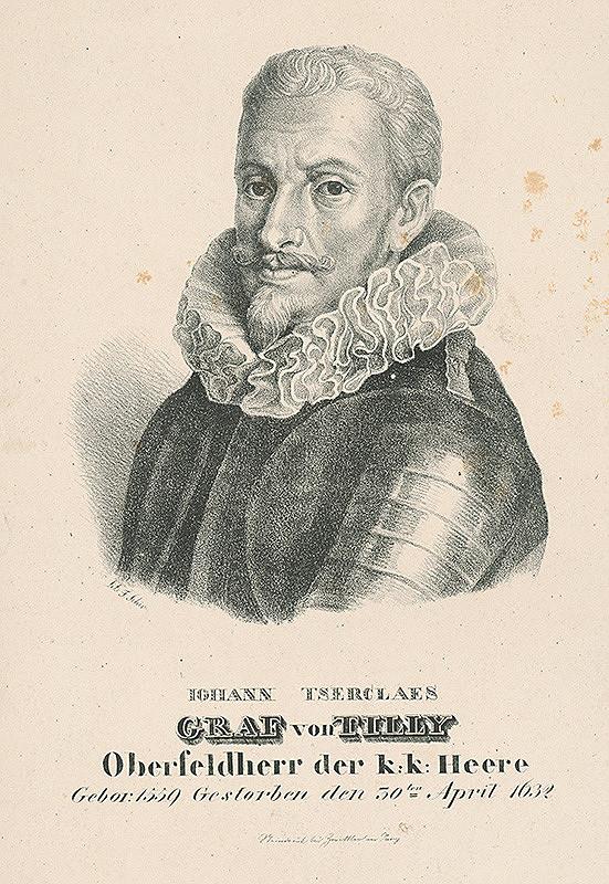 František Šír - Podobizeň grófa Tilly