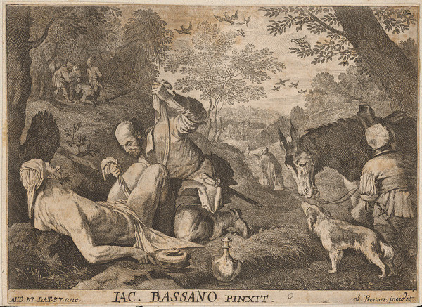 Anton Jozef Prenner, Jacopo Bassano – Milosrdný Samaritán