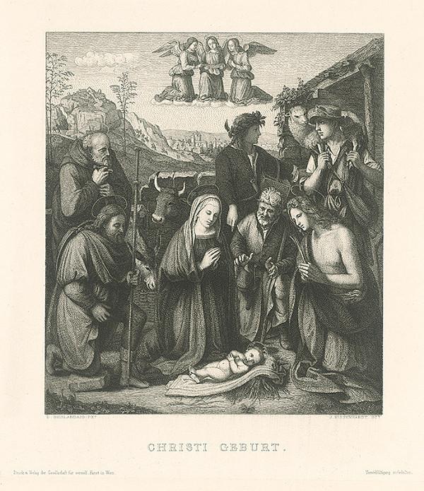 Johannes Kaspar Eissenhardt, Domenico Ghirlandaio - Narodenie Krista