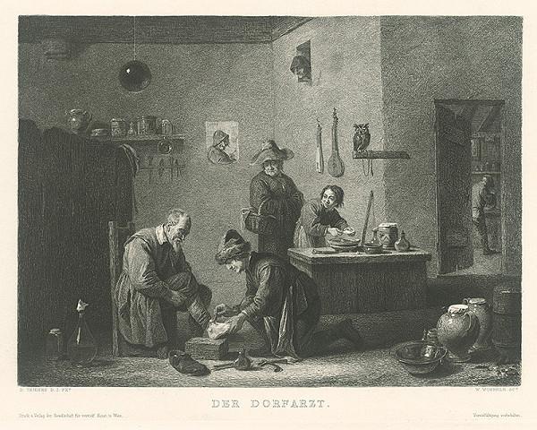 Wilhelm Woernle, David Teniers – Dedinský lekár