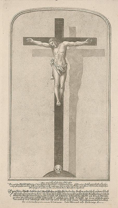Neznámy rytec z 19. storočia – Kristus na kríži