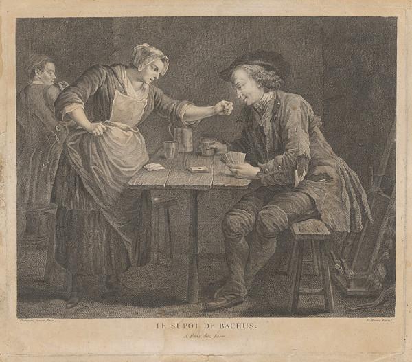 Louis Michel Dumesnil, Pierre Francois Basan - Le Sypot de Bacchus