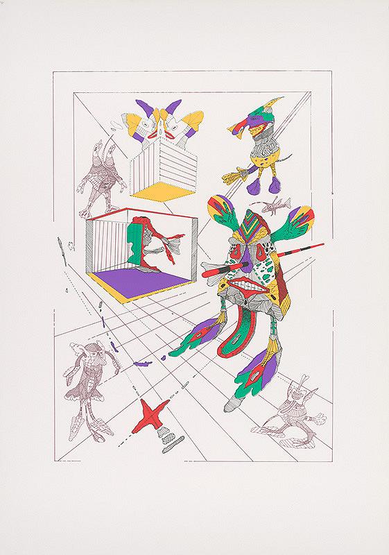 Karol Baron - Paradox grotesknosti I. (Triptych)