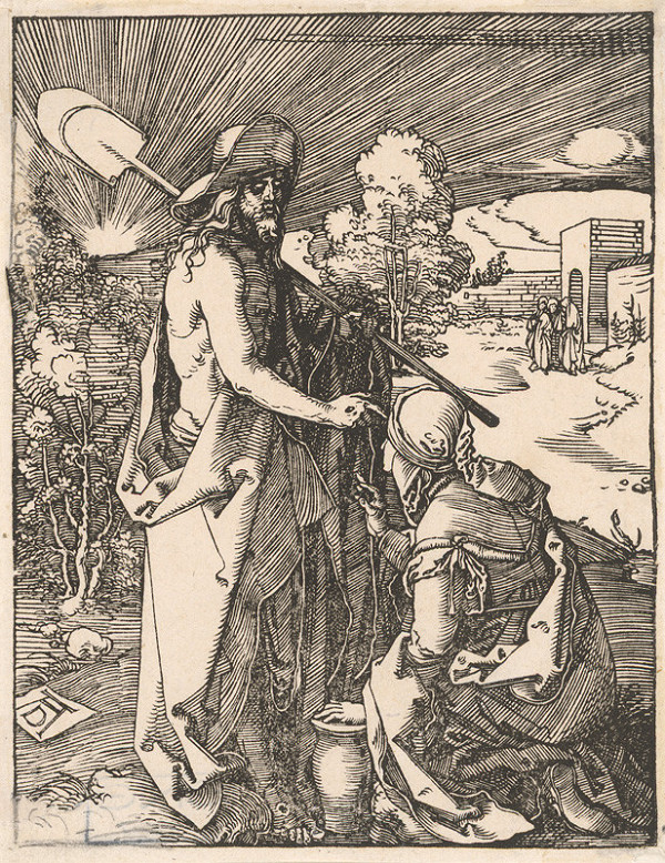 Albrecht Dürer – Kristus sa zjavuje Magdaléne