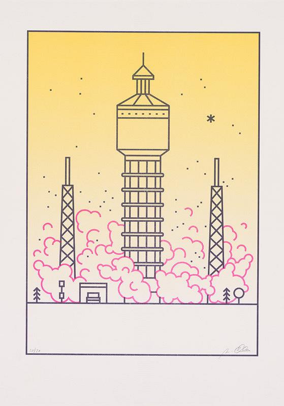 Michaela Chmelíčková – Space Rocket (Vodojem v Trnave) II.