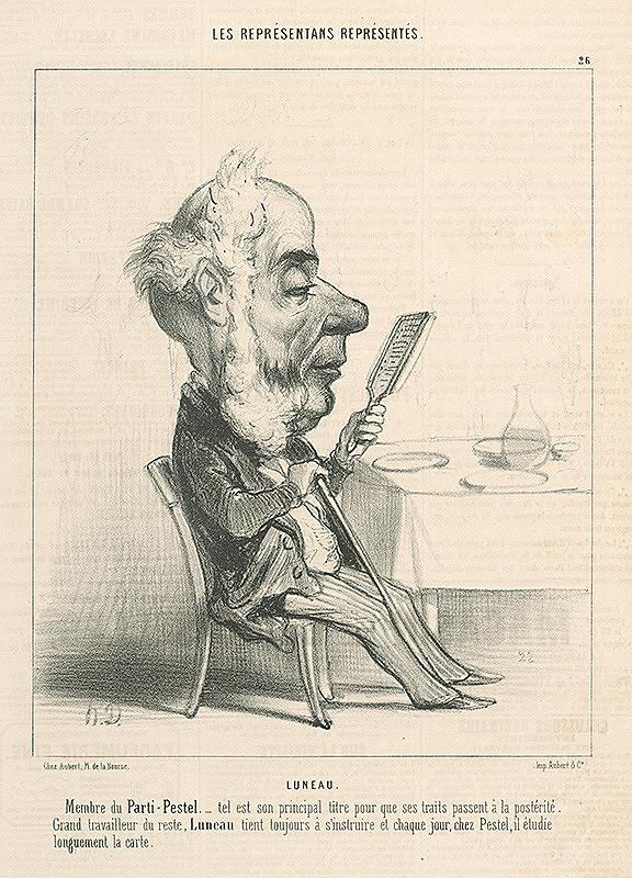 Honoré Daumier – Lueau