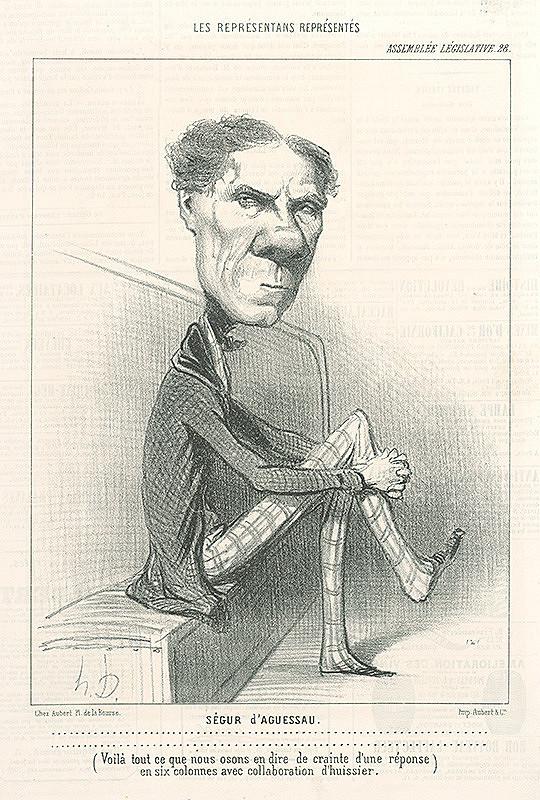 Honoré Daumier – Ségur D Aquessau