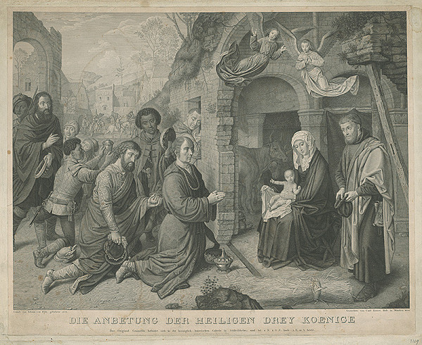 Carl Ernest Hefs, Jan van Eyck – Kľananie troch kráľov