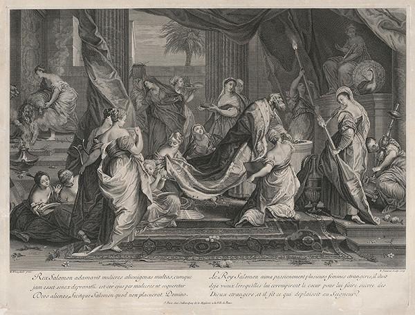 Edme Jeaurat, Nicolas Vleughels – Kráľ Šalamún