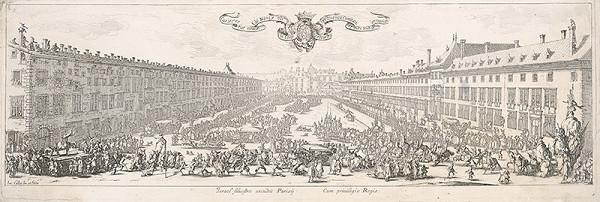 Jacques Callot – Námestie Carriére v Nancy