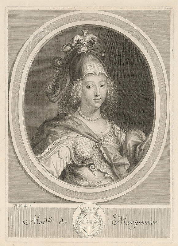 Nicolas de Poilly - Slečna de Montpensier