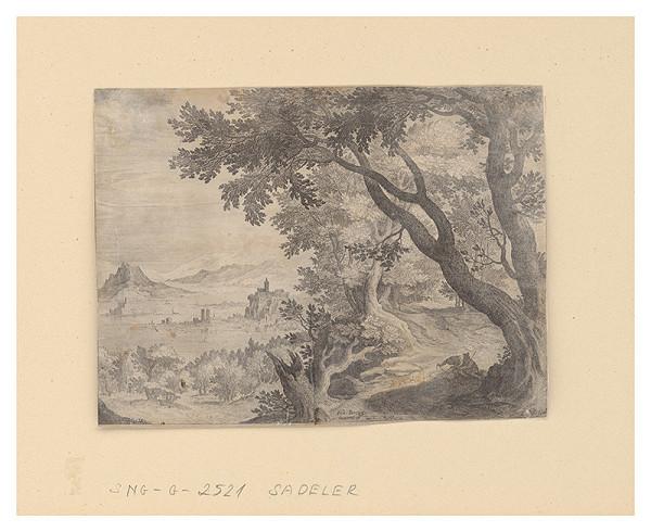 Aegidius Sadeler II., Johann Breugel - Krajina s riekou