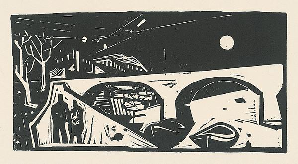 Vincent Hložník – Nábrežie Tiberu