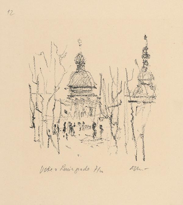 Andrej Doboš – Veže v Leningrade. Z cesty po ZSSR