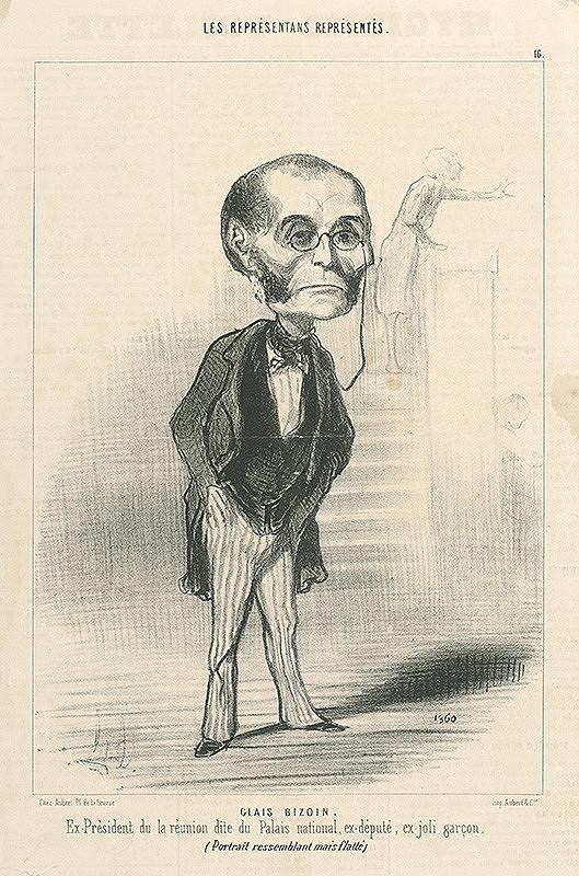 Honoré Daumier – Glais Bizoin