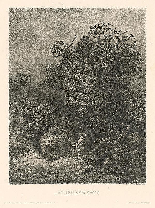 Julius Edvard Mařák – Búrka