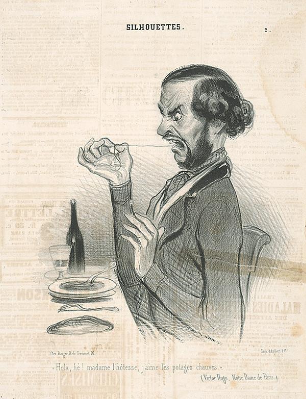 Honoré Daumier - Polievka