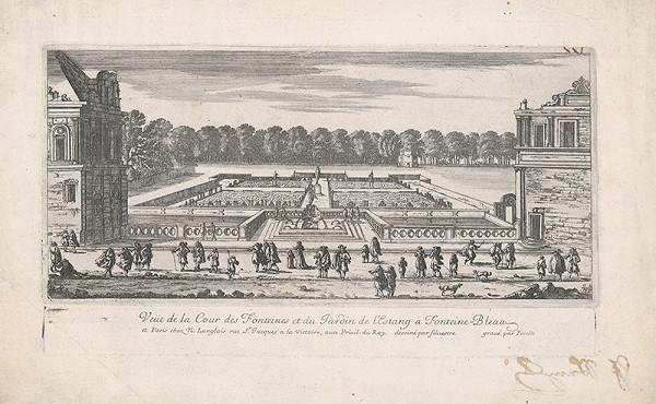 Gabriel Pérelle, Israël Silvestre – Fontány a záhrada vo Fontainebleau