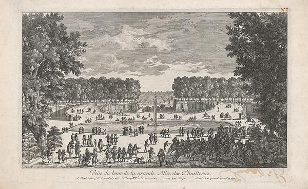 Gabriel Pérelle – Promenáda v Tuileries
