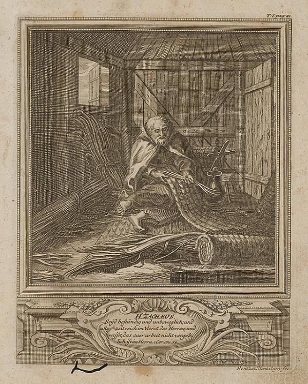Michael Heinrich Rentz – Sv. Zacheus