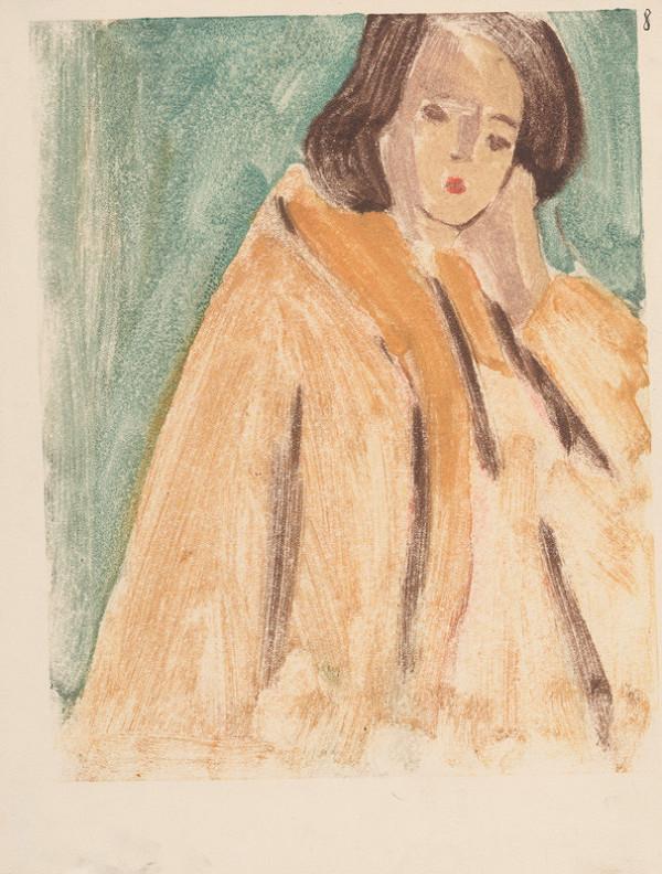 Eugen Nevan – Žena v žltom