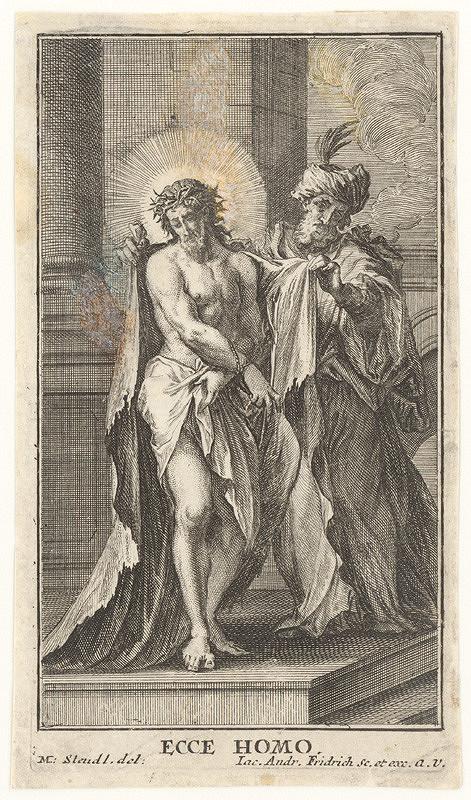 Jacob Andreas Fridrich, Melchior Steudl – Ecce homo