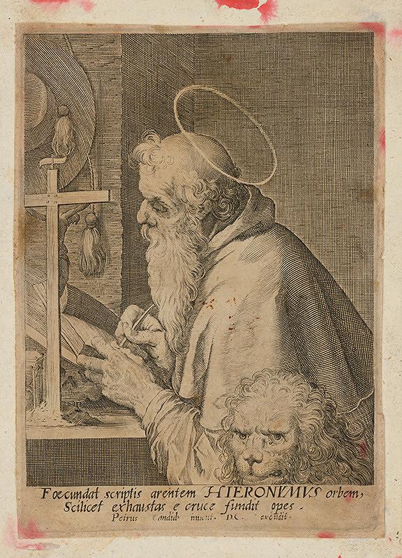 Peter Candid - Svätý Hieronym