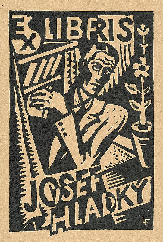 Ľudovít Fulla – Ex libris Josef Hladký 2.