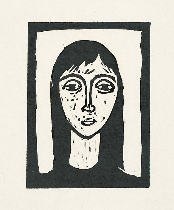 Ernest Špitz - Dievča s dlhými vlasmi