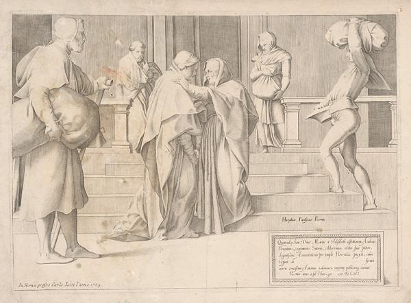 Horatius Pacificus Formis, Carlo Losi - Navštívenie Panny Márie