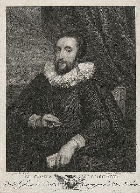 Pierre Alexandre Tardieu, Anthony van Dyck - Gróf d` Arundel