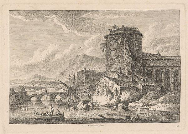 Franz Edmund Weirotter – Pevnosť