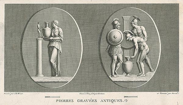 H.G. Bertaux, Jean Baptiste Joseph Wicar – List zo zborníka antických kamejí I.