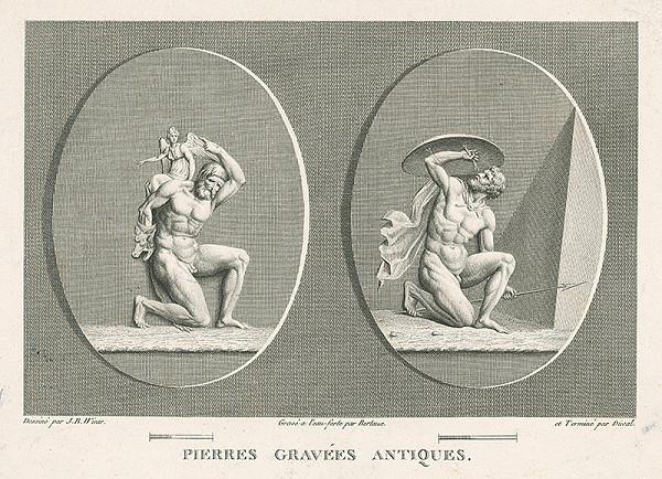 H.G. Bertaux, Jean Baptiste Joseph Wicar – List zo zborníka antických kamejí II.
