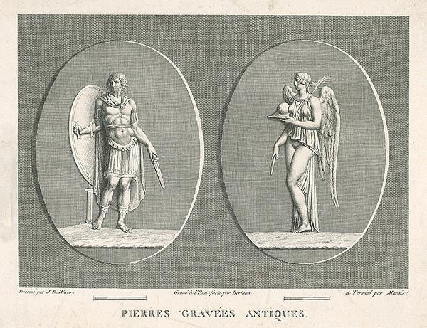 H.G. Bertaux, Jean Baptiste Joseph Wicar – List zo zborníka antických kamejí VI.