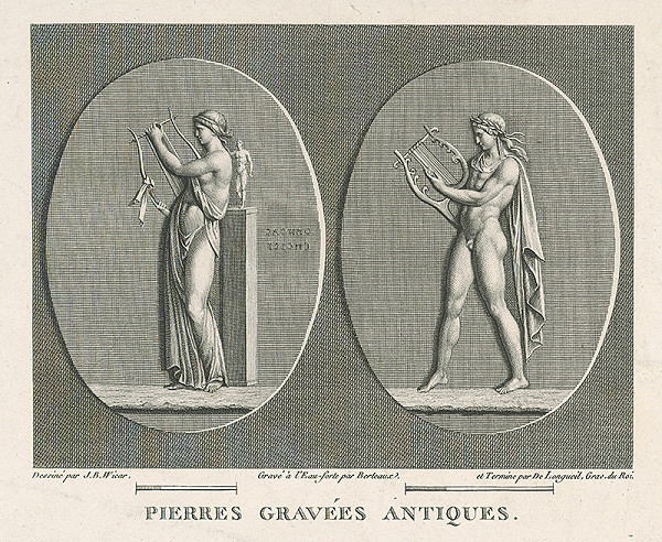 H.G. Bertaux, Jean Baptiste Joseph Wicar – List zo zborníka antických kamejí VII.