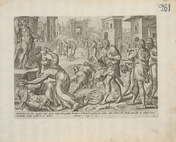 Claes Jansz. Visscher - Machab: 1.Cap. 2.14