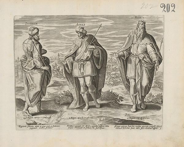 Claes Jansz. Visscher - Iotham, Achas. Hizkia