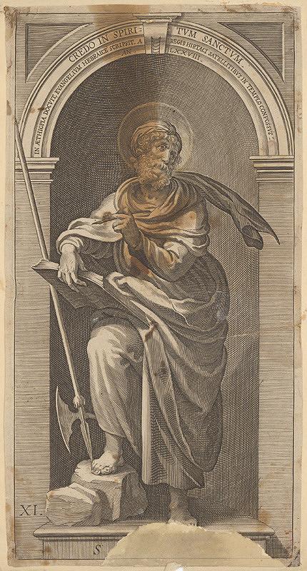 Hendrick Goltzius – Credo in Spiritum sanctum