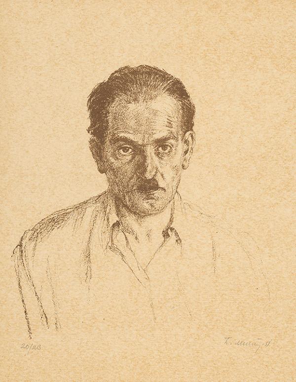 Dezider Milly – Autoportrét