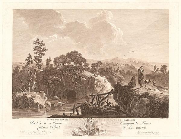 Jean-Baptiste Racine, Jean Baptiste Pillement – Pohľad na okolie Gaillonu