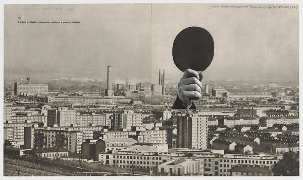 Július Koller – Ping-pongový monument-projekt